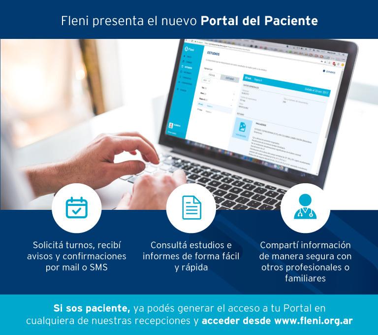 Nuevo Portal del Paciente para gestionar turnos, consultas y estudios  online - Fleni